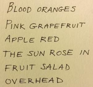 FruitSaladPoem